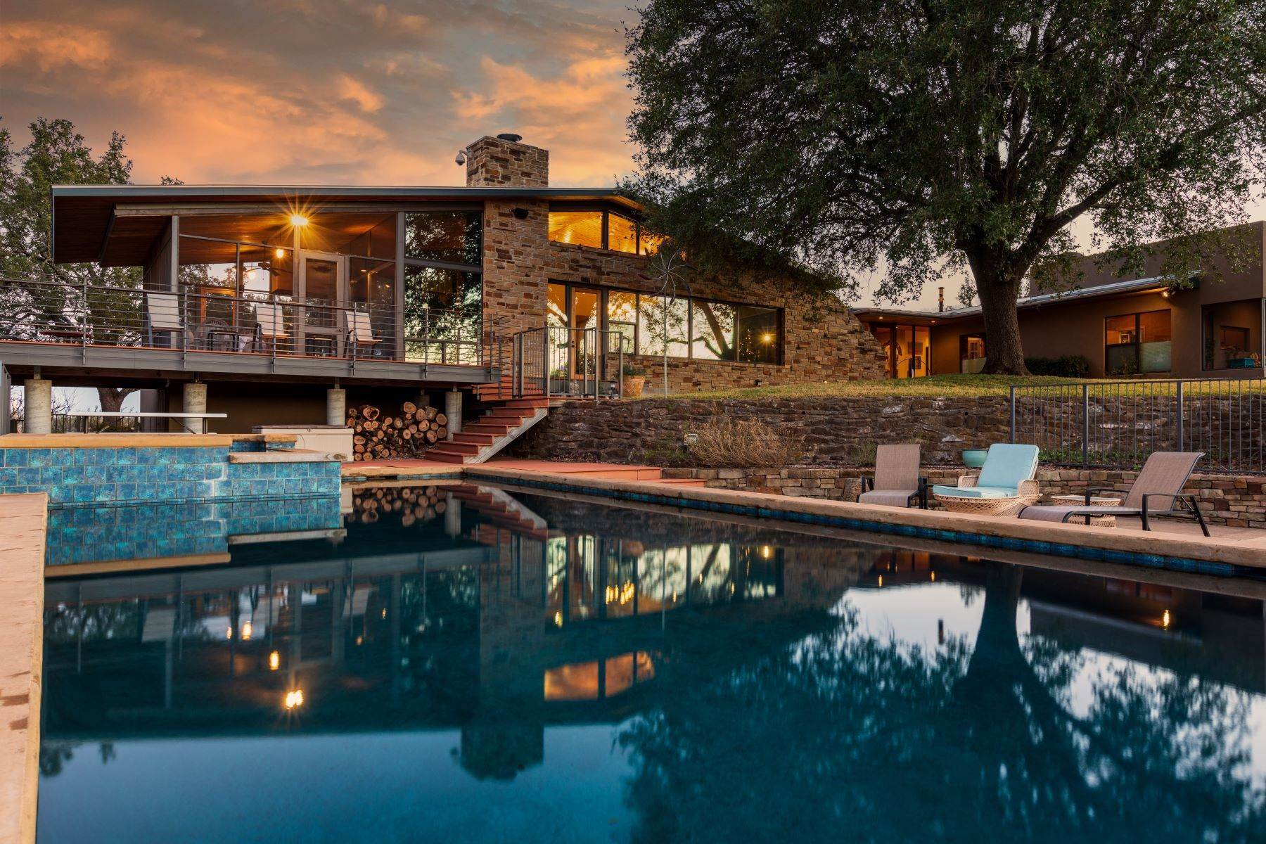 Single Family Homes for Sale at Impeccable Estate Overlooking the Hill Country 1410 Ischar Street Mason, Texas 76856 United States
