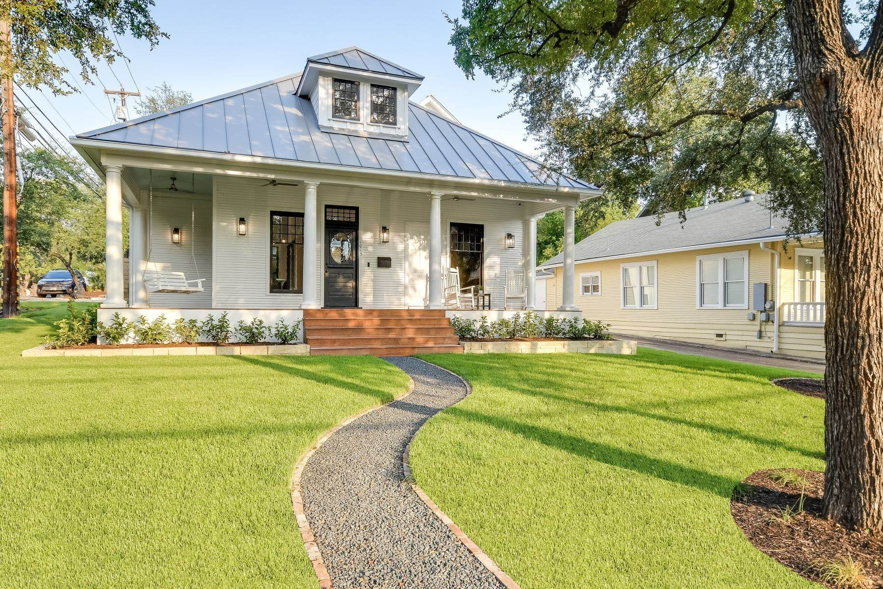 Single Family Homes for Sale at Remarkable Clarksville Remodel 1013 Blanco Street Austin, Texas 78703 United States