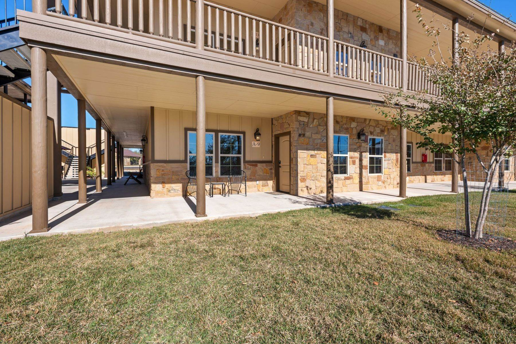 Single Family Homes for Sale at Fully Furnished Condo in Historic Gruene 1554 Gruene Road, Unit A9 New Braunfels, Texas 78130 United States