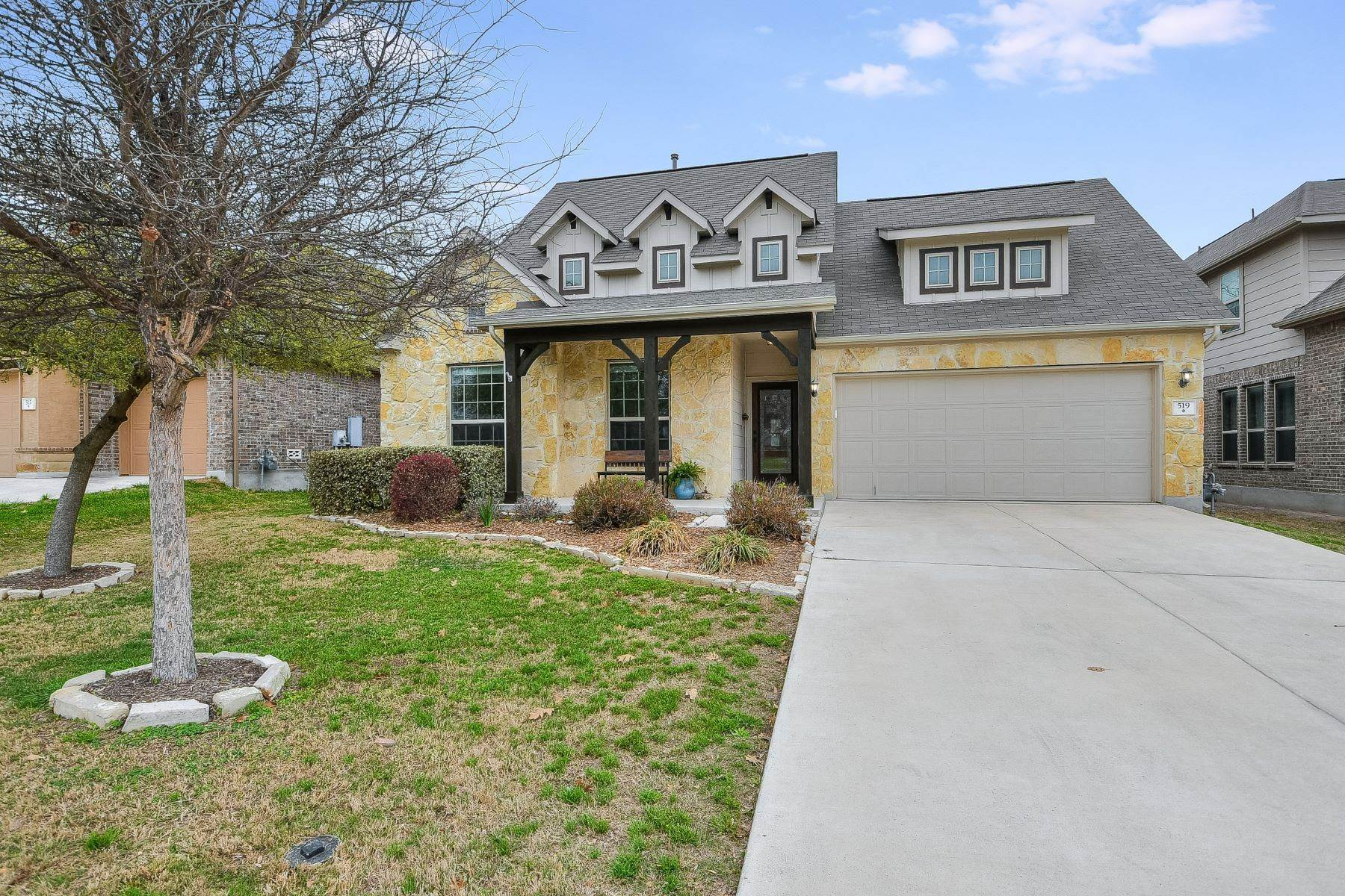 Single Family Homes for Sale at Spacious Home For Entertaining 519 Pecan Forest New Braunfels, Texas 78130 United States