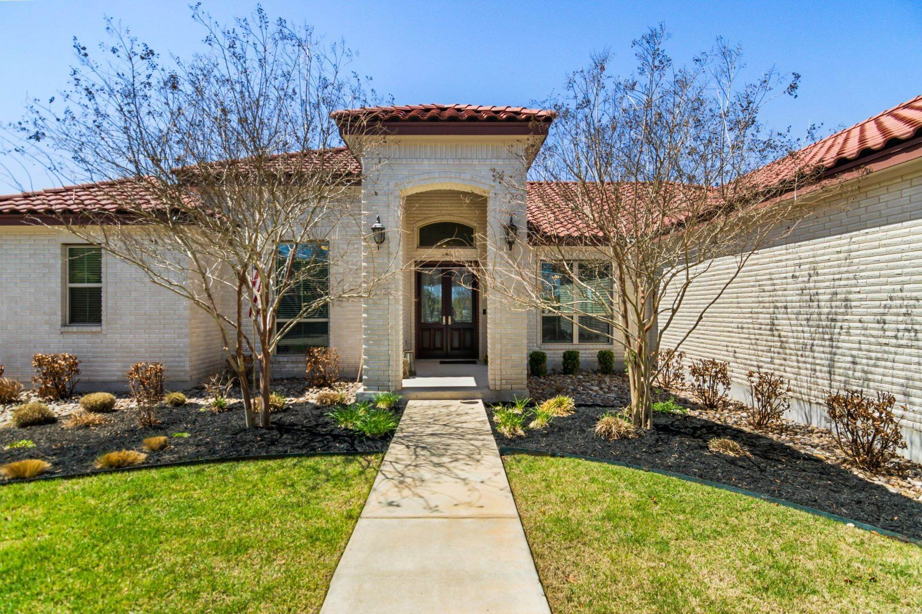 Property for Sale at Remarkable One-Story Home 22813 East Range San Antonio, Texas 78255 United States